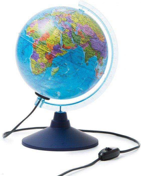 Иллюстрация 1 из 4 для Глобус Земли политический с подсветкой (d=210 мм) (Ке012100180)   Лабиринт - канцтовы. Источник: Лабиринт