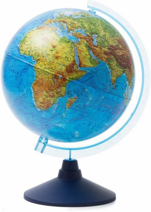 Иллюстрация 1 из 10 для Глобус Земли физический (d=250 мм) (Ке012500186)   Лабиринт - канцтовы. Источник: Лабиринт