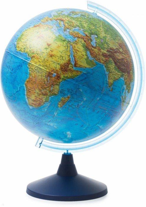 Иллюстрация 1 из 4 для Глобус Земли физический (d400 Ке014000242) | Лабиринт - канцтовы. Источник: Лабиринт