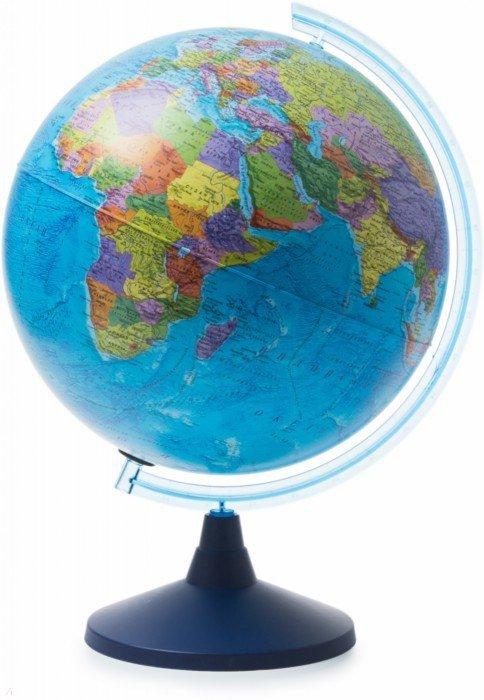 Иллюстрация 1 из 3 для Глобус Земли политический (d400 Ке014000243) | Лабиринт - канцтовы. Источник: Лабиринт