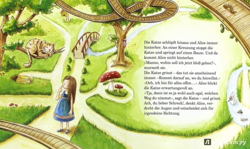 Иллюстрация 1 из 5 для Alice im Wunderland | Лабиринт - книги. Источник: Лабиринт