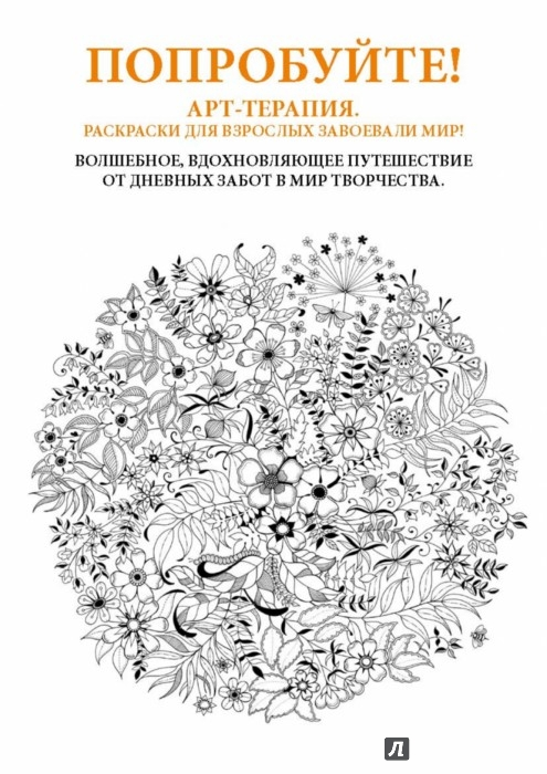 Иллюстрация 1 из 71 для Таинственный сад. Книга для творчества и вдохновения - Джоанна Бэсфорд | Лабиринт - книги. Источник: Лабиринт