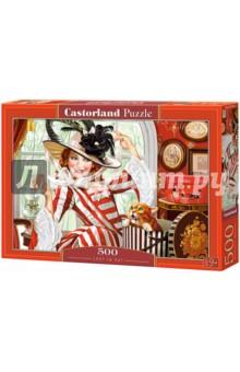 """Puzzle-500 """"Леди в шляпе"""" (B-52165)"""