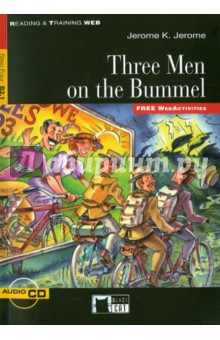 Three Men on the Bummel  (+CD) туфли julia grossi julia grossi ju011awwgb44