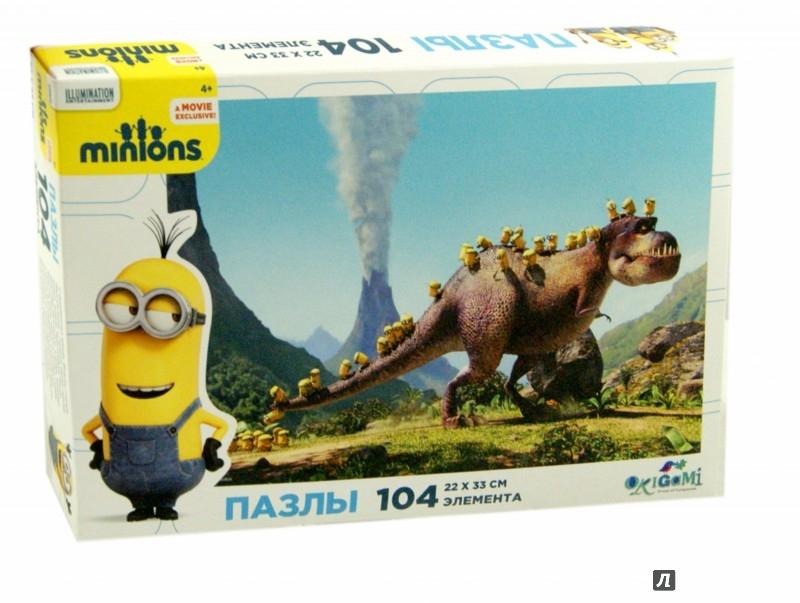 """Иллюстрация 1 из 2 для Пазл-104 """"Minions"""" (01693)   Лабиринт - игрушки. Источник: Лабиринт"""