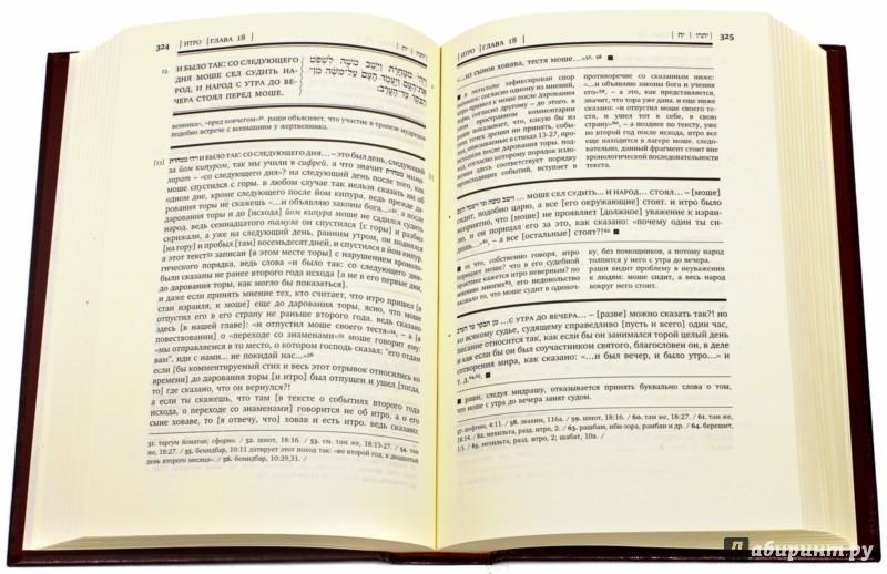 Иллюстрация 1 из 16 для Тора с комментариями Раши. В 5-ти томах | Лабиринт - книги. Источник: Лабиринт