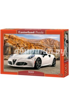 Puzzle-500 Альфа Ромео 4С (B-52219) альфа ромео 159 фара купить