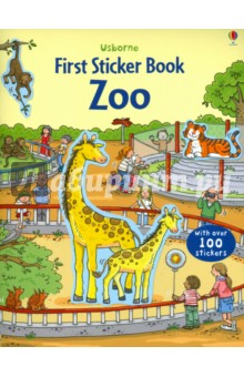 First Sticker Book. Zoo put me in the zoo a book of colors