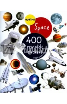 Купить Eyelike Space (sticker book), Workman, Изучение иностранного языка