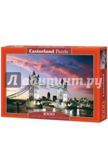 Puzzle-1000. Мост Тауэр (С-101122) пазлы crystal puzzle 3d головоломка вулкан 40 деталей