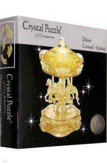 3D головоломка Золотая карусель (91109) пазлы crystal puzzle головоломка золотая карусель