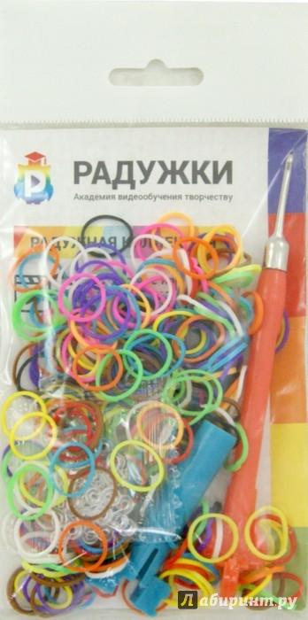 Иллюстрация 1 из 6 для Радужки. Мини-набор для плетения | Лабиринт - игрушки. Источник: Лабиринт