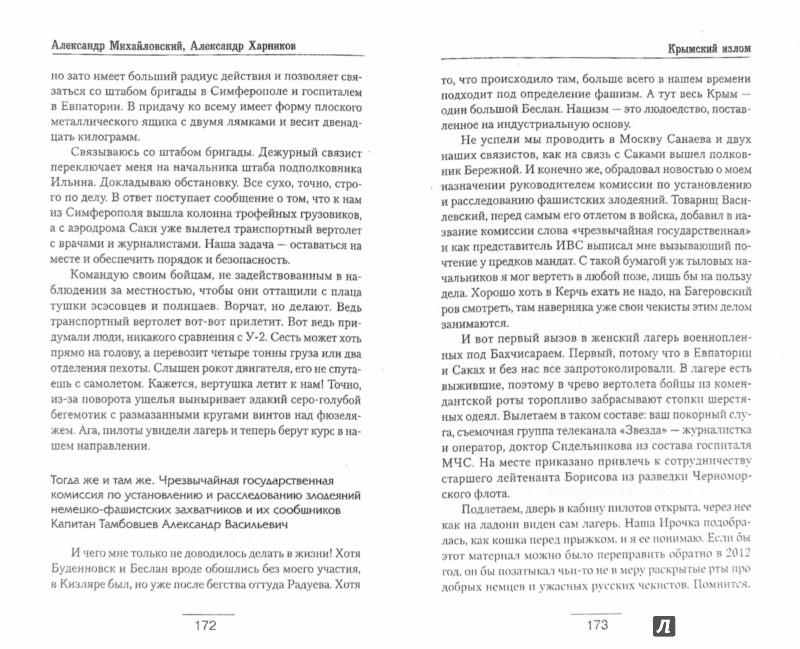 Иллюстрация 1 из 8 для Крымский излом - Михайловский, Харников | Лабиринт - книги. Источник: Лабиринт