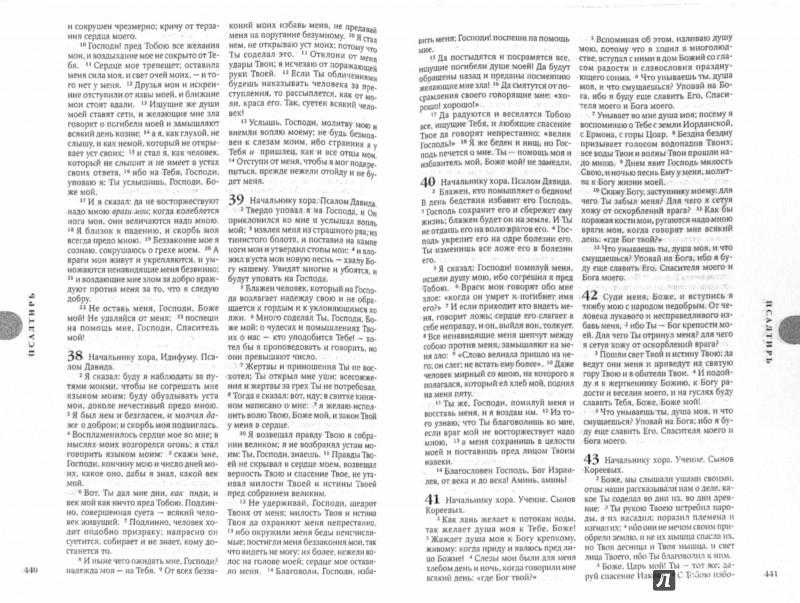 Иллюстрация 1 из 2 для Библия, малый формат. Канонический книги Священного Писания Ветхого и Нового Завета | Лабиринт - книги. Источник: Лабиринт