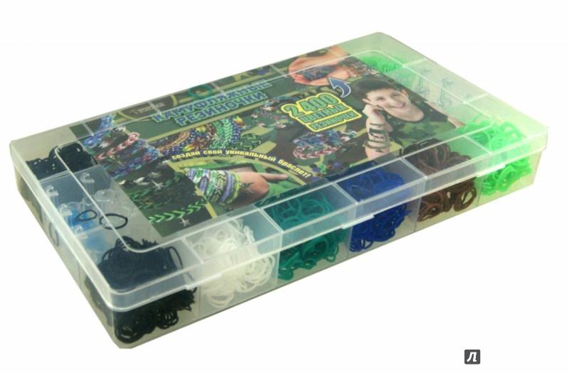 Иллюстрация 1 из 3 для Набор цветных камуфляжных резиночек (AN-90) | Лабиринт - игрушки. Источник: Лабиринт