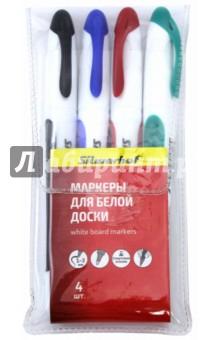"""Набор маркеров для белой доски """"Intens"""" (4 штуки) (119004-00)"""