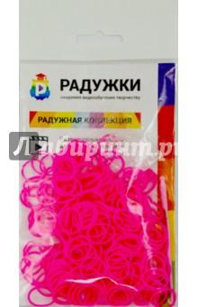 Комплект дополнительных резиночек №34 (розовый, 300 штук) радужки большой комплект дополнительных резиночек 1