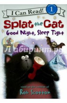 Splat the Cat. Good Night, Sleep Tight (Level 1) ethnic canvas backpack school bag student patchwork striped rucksack women men travel packs laptop shoulder bag mochila xa1435c