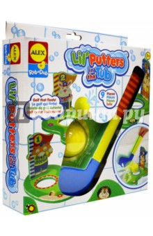 Игрушка для ванны Гольф (691W) alex игрушки для ванны 3 цветные лодочки