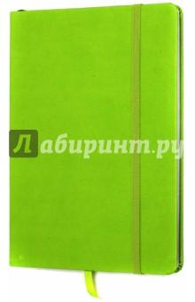 Тетрадь Копибук (САЛАТОВЫЙ, 96 листов, А5, клетка, закрывается на резинку) (38940-15)