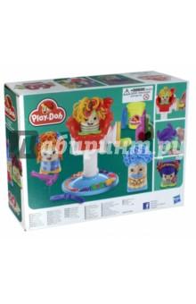 Купить Набор Сумасшедшие прически (B1155), Hasbro, Наборы для лепки с игровыми элементами