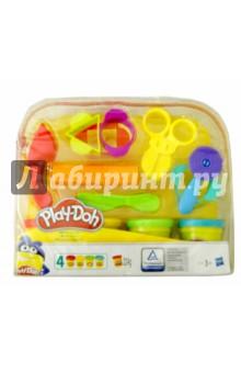Набор игровой Play-Doh Базовый (B1169) hasbro play doh игровой набор из 3 цветов цвета в ассортименте с 2 лет