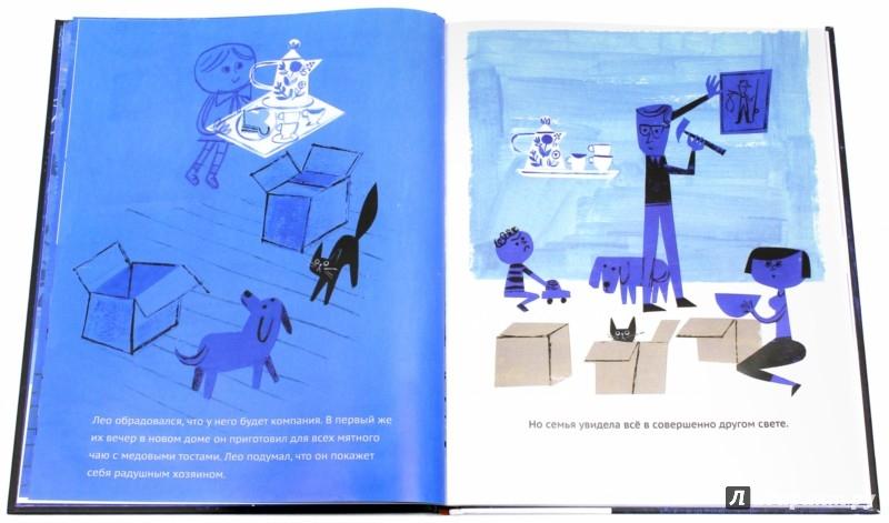 Иллюстрация 1 из 19 для Лео. История одного привидения - Мак Барнет   Лабиринт - книги. Источник: Лабиринт