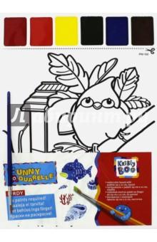 Набор для раскрашивания акварелью Птичка (58581) kribly boo набордляраскрашивания