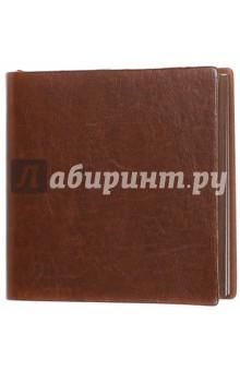 Ежедневник-мини недатированный А6-, Пристин, коричневый (39764-30)
