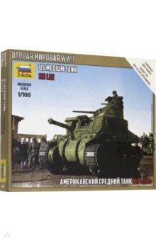 Сборная модель. Американский средний танк Ли М3 (6264) звезда звезда сборная модель танк т 26