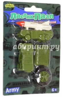 Набор ЛастикПазл Военная техника (CL-8017)