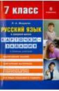 Обложка Русский язык. 7 класс. Карточки-задания. В помощь учителю