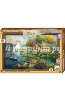 Купить Набор для детского творчества. Изготовление картины Тихое озеро (АБ 21-143), Клевер, Конструирование рамок, коллажей и панно