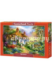 Купить Puzzle-3000 Коттедж в лесу (C-300402), Castorland, Пазлы (2000 элементов и более)