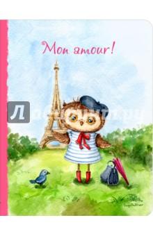 Блокнот Mon amour, А5+ mon amour мюлес и сабо