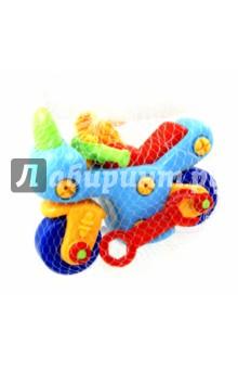 Конструктор Мотоцикл с отверткой и ключом (62028) kribly boo мотоцикл с отверткой и ключом 62028