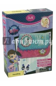Набор шьем сумочку-клатч  Littlest Pet Shop. Маленький зоомагазин (57353) аксессуары для детей