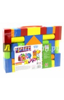 Купить Мягкий блочный конструктор (41 деталь) (58360), KriBly Boo, Конструкторы из пластмассы и мягкого пластика