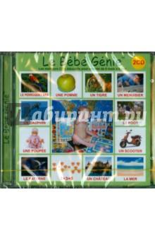 """""""Le Bebe Genie тм"""". 2 диска на французском языке (2CD-ROM) от Лабиринт"""