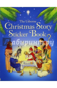 The Usborn Christmas Story Sticker Book peppa goes swimming sticker story book