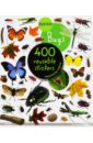 Bugs. Sticker book. 400 reusable stickers