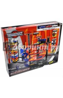 Многоуровневый гараж Большой город (1415971.00) машинки hti паровозик roadsterz синий с вагоном звуковыми и световыми эффектами