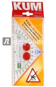 Треугольник-транспортир Softie Flex (K-262 2270319) клей для трубной теплоизоляции k flex 220 г