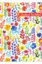 Дневничок для девочек Акварельные цветы (41542-24)