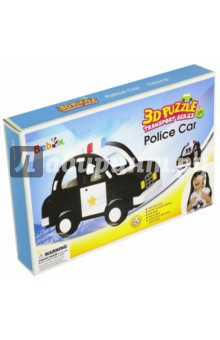 Конструктор мягкий Полицейская машина (36 деталей) (Т6015) машины chicco полицейская машина