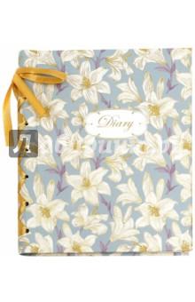 Ежедневник с декоративной лентой Лилии (А6+, 240 страниц) (37491-20) желай делай ежедневник