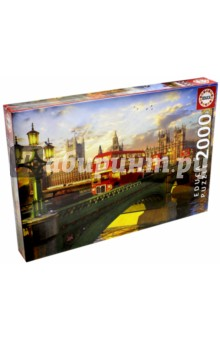 Пазл-2000 Вестминстерский мост, Лондон (16777) educa пазл пекарня