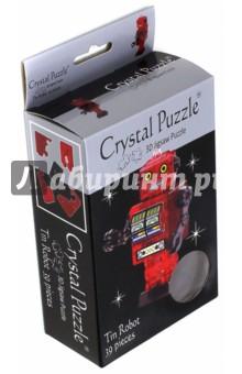3D головоломка Робот красный (90151) пазлы crystal puzzle 3d головоломка эйфелева башня 96 деталей