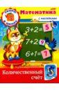 Султанова Марина Скоро в школу. Математика. Количественный счет. Книга с наклейками