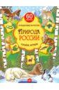 Плаксунова Дарья Природа России. Узнаём, играем. Книга с многоразовыми наклейками цена